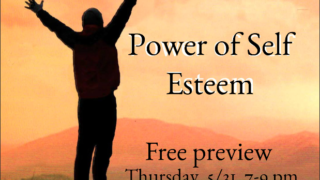 Free preview evening for the Power of Self Esteem