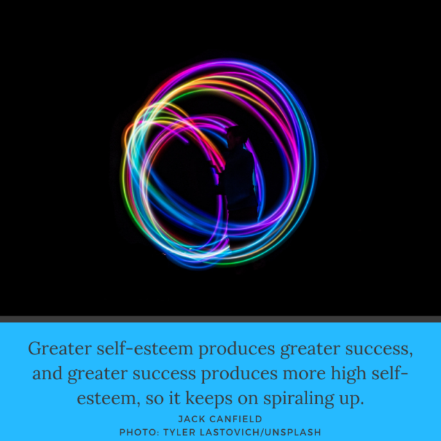 Greater Self Esteem = Greater Success